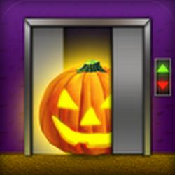 100 Floors Halloween app, spooky levels for Android