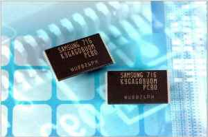 Samsung 16GB NAND Flash Memory Chips