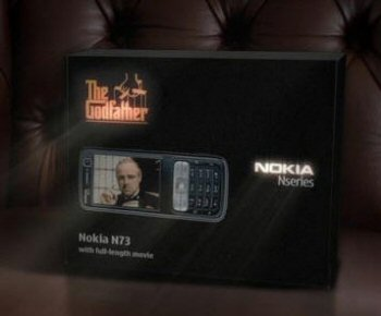 Nokia N73 Godfather Special Edition Phone