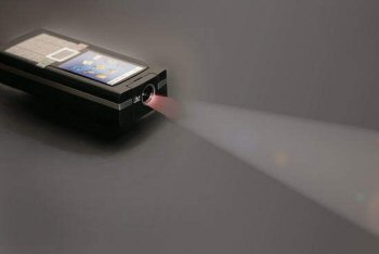 Pico DLP Projector Phone