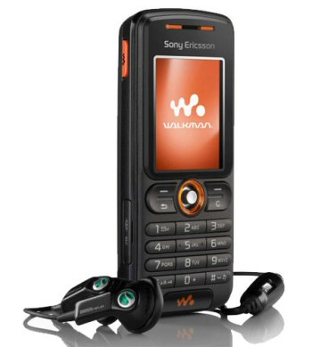 Sony Ericsson W200i Walkman Phone