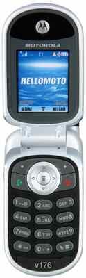 Motorola V176 Open