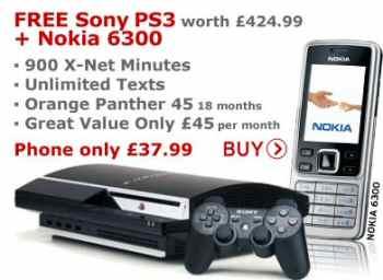Nokia 6300 & PS3 Deal