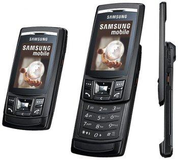 Samsung D840 Ultra Slider Slim Mobile Camera Phone Is