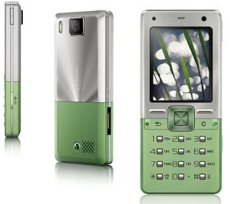 Sony Ericsson T650 Growing Green