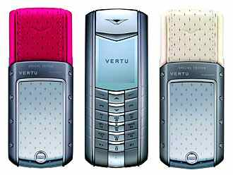 Cream with mobile Strawberries is a Vertu