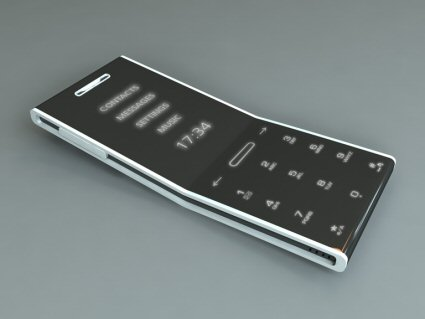 mimalist concept phone