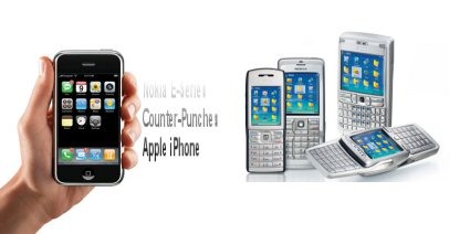Nokia E Series Vs iPhone