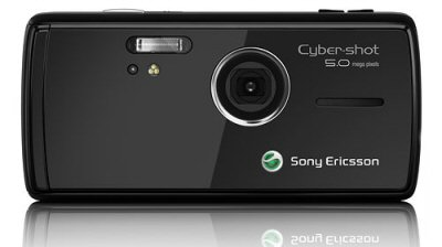 Sony Ericsson K850 Back View