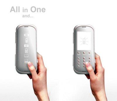 Haptic Phone concept