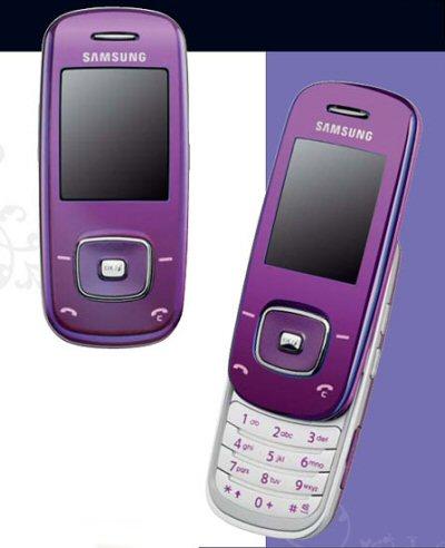 Samsung L600 Violet