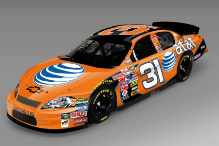 NASCAR 31 Chevy with AT&T Logo