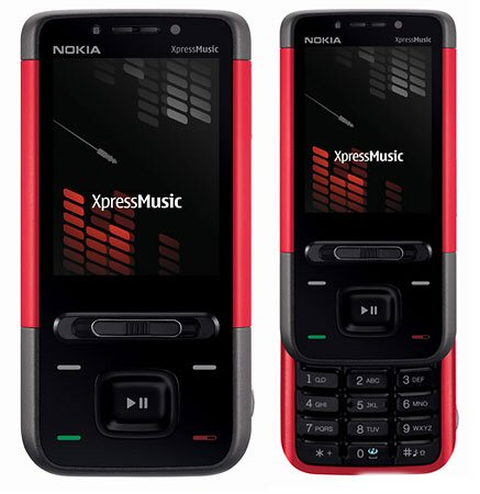 Nokia XpressMusic 5610 red