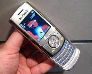 Samsung J610 slider phone