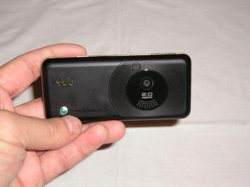 Sony Ericsson W660i back 1