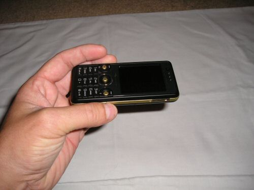 Sony Ericsson W660i sideways