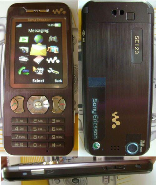 Sony Ericsson W890i prototype pic 2