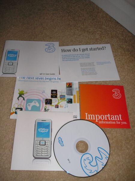 3skypephone books - cd