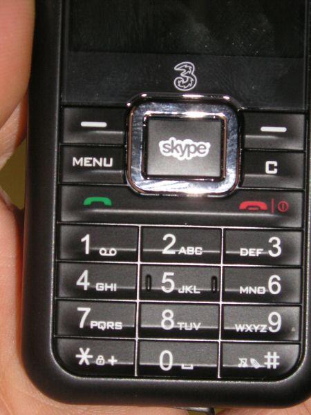 3skypephone keypad