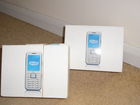 3skypephone the box times two