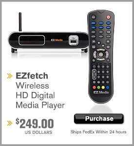 EZFetch HD media streamer price