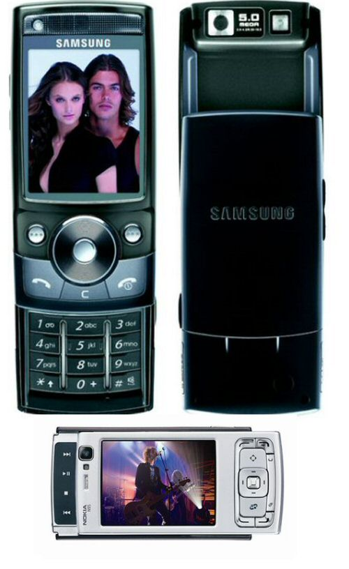 Samsung G600 and the Nokia N95