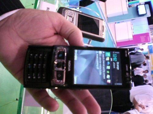 Nokia N95 8GB slide it up