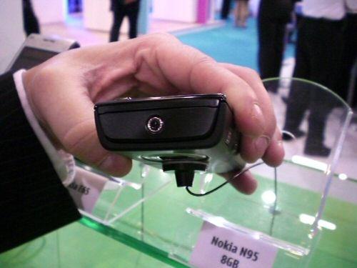 Nokia N95 8GB top view