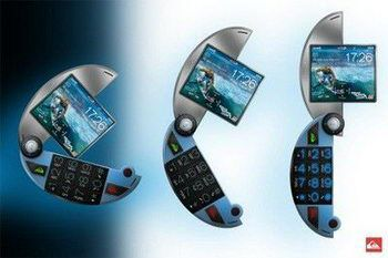 Quicksilver mobile phone concept pic 1