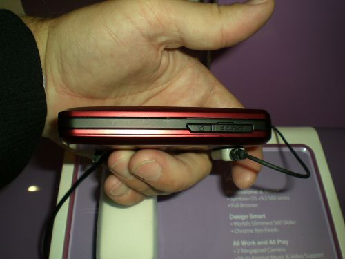 Samsung i400 side view one