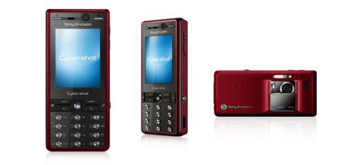 Exclusive Sony Ericsson K810i Red main pic