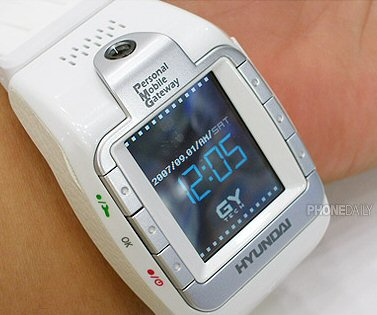 Hyundai W-100 watch phone pic 1