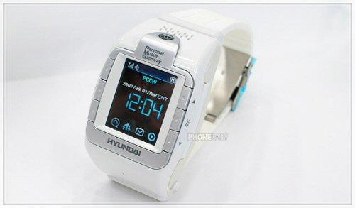 Hyundai W-100 watch phone pic 2