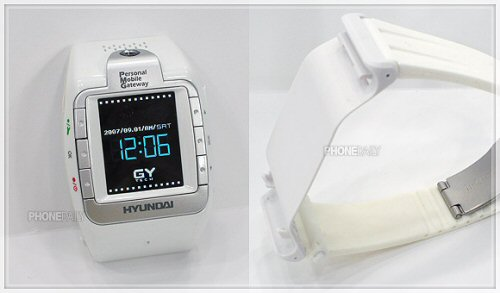 Hyundai W-100 watch phone pic 3