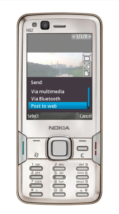Nokia N82 official pic 2