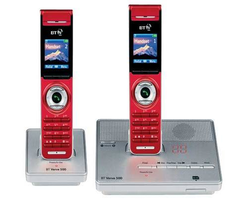 BT Verve 500 Red