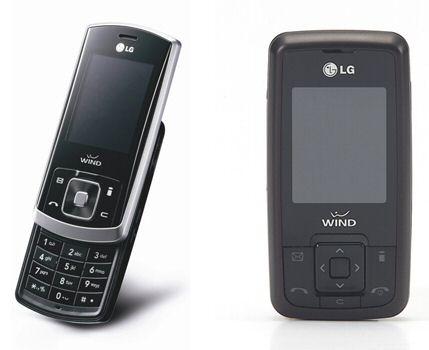 LG KE590 & LG KG291 i-mode