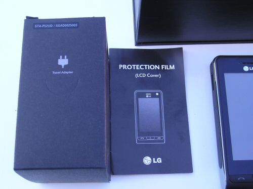 LG Viewty Handset-Charger-Display Film