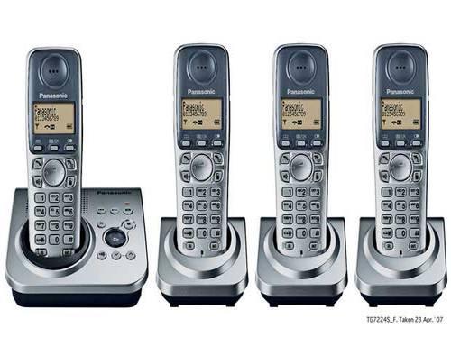 Panasonic KX-TG7224ES DECT Quad