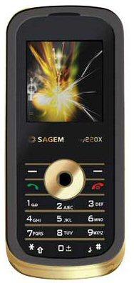 Sagem my220x gold