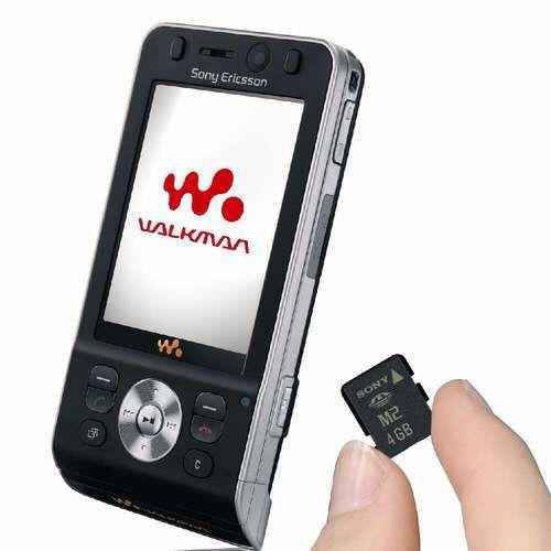 sony 4GB M2 card