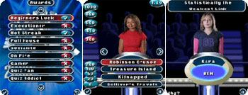 Weakest Link mobile phone game pic 2
