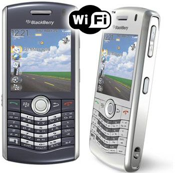BlackBerry Pearl 8120 with GPS and WiFi