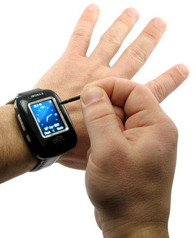 iWatch PDA touchscreen phone