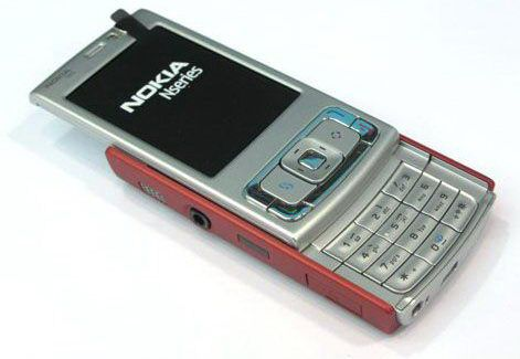 Nokia N95 Red pic 2