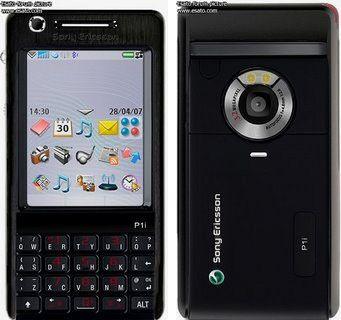Sony Ericsson P1i Black