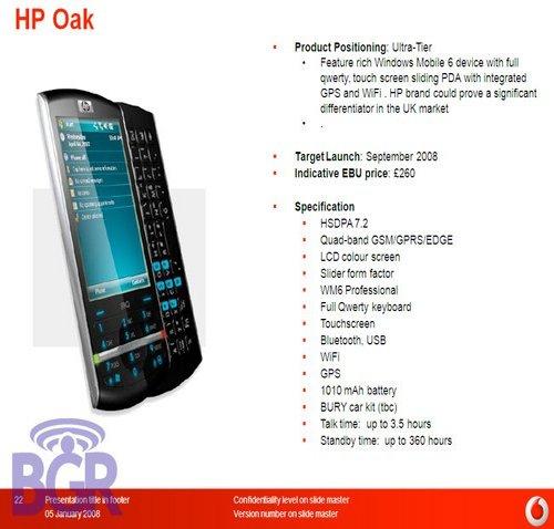 Nokia, HP, Blackberry, Palm