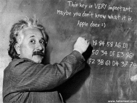 Apple iPhone SDK key leaked