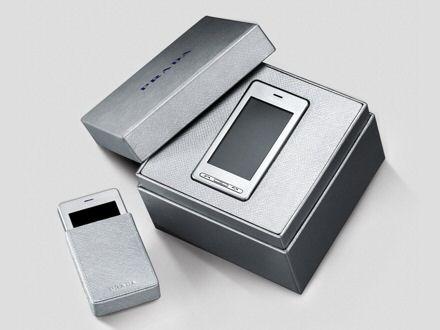 LG Prada KE850 in silver