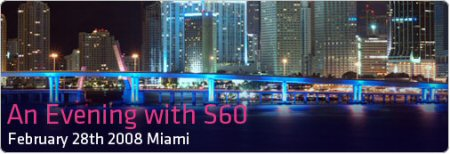 Spend the Evening with S60 in Miami